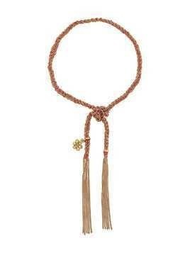 Carolina Bucci 18kt yellow gold flower charm Lucky bracelet - Pink