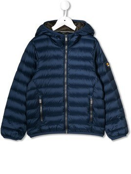 Ciesse Piumini Junior logo patch padded jacket - Blue