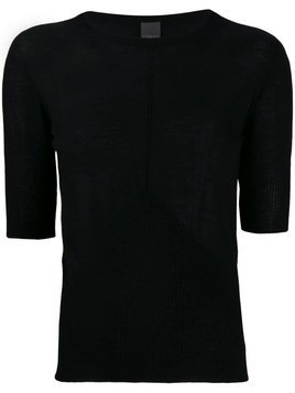 Lorena Antoniazzi knitted top - Black