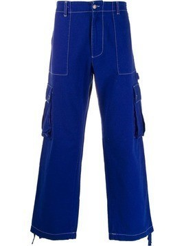 Benetton cargo trousers - Blue