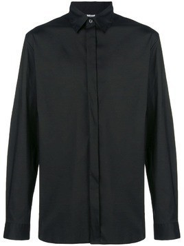 Just Cavalli long-sleeve fitted shirt - Black