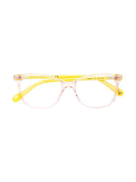 Stella Mccartney Kids cat-eye frame glasses - Pink & Purple