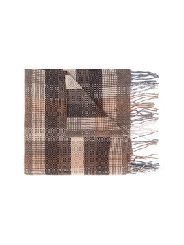 Canali cashmere scarf - Brown