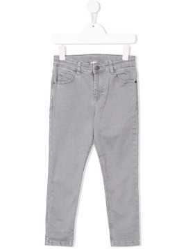 Stella McCartney Kids skinny-fit jeans - Grey