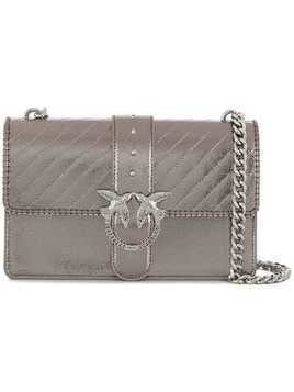 Pinko Love shoulder bag - Grey