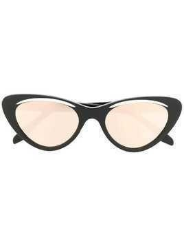 Cutler & Gross cat-eye sunglasses - Black
