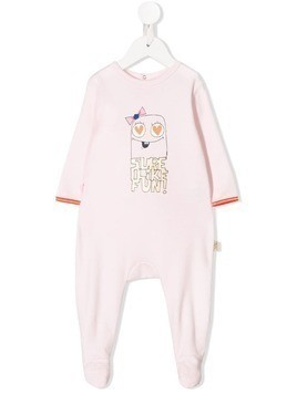 Little Marc Jacobs Sure I Like Fun babygrow - PINK