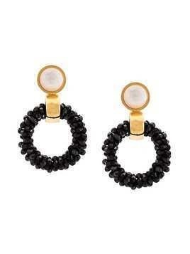 Lizzie Fortunato Jewels Brancusi Hoops - White