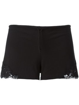 La Perla drawstring lace insert shorts - Black