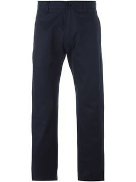 E. Tautz chino trousers - Blue