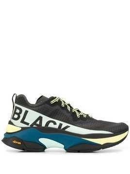 Brandblack chunky low top sneakers