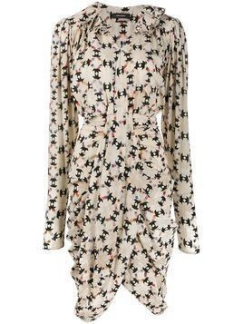 Isabel Marant Blandine draped dress - NEUTRALS