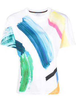 Ps By Paul Smith paint stroke T-shirt - White