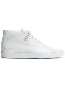 Common Projects - lace-up hi-tops - Herren - Calf Leather - 44 - Grey