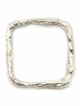 Niza Huang 'Illusion Square' ring - Metallic