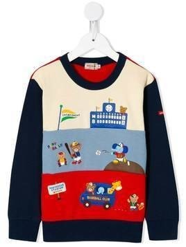Miki House Baseball Club jumper - Multicolour