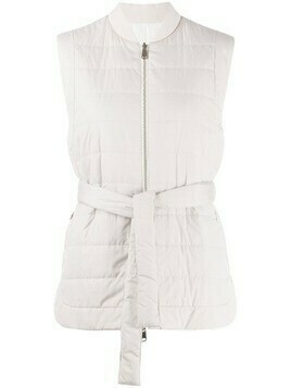 Brunello Cucinelli sleeveless quilted gilet - Grey
