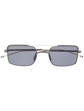 Thom Browne Eyewear square-frame sunglasses - Black