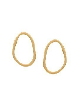 Maya Magal Simple Organic Link earrings - Gold