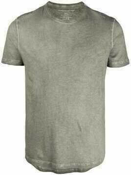 Majestic Filatures faded crewneck cotton T-shirt - Green