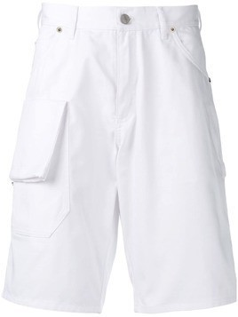Jacquemus flap pocket Bermuda shorts - White