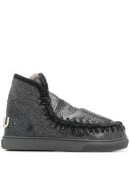 Mou Eskim metallic boots - Black