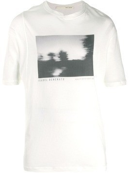 Isabel Benenato graphic print T-shirt - White