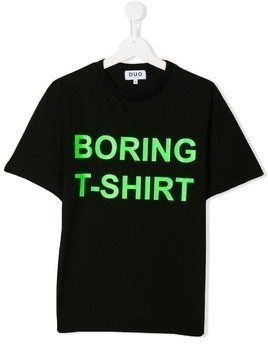 Duo Boring T-shirt - Black
