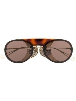 Max Mara aviator frame sunglasses - Brown