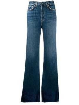 Grlfrnd flared high waisted jeans - Blue