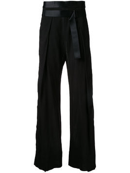 Ann Demeulemeester Novice trousers - Black