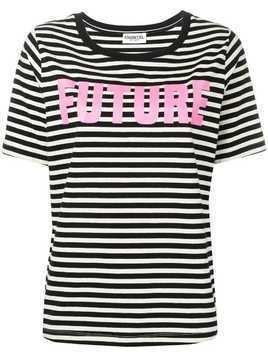 Essentiel Antwerp Future print T-shirt - Black