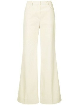 System wide leg trousers - Neutrals