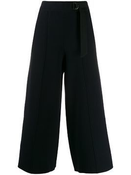 Falke tailored cropped trousers - Blue