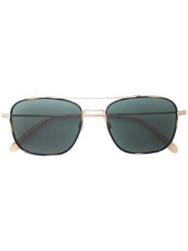 Garrett Leight Marr square-frame sunglasses - Gold