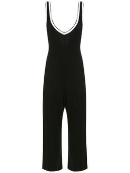Osklen wide leg jumpsuit - Black