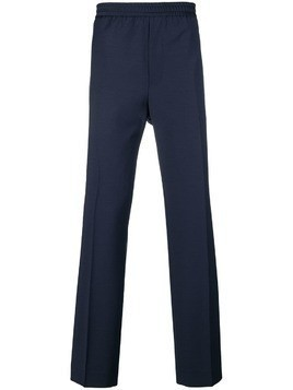Golden Goose Deluxe Brand elasticated pleated pants - Blue