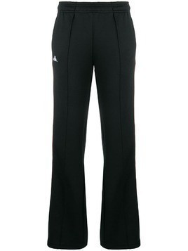 Kappa track snap button trousers - Black