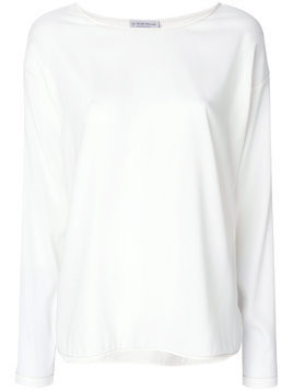 Le Tricot Perugia longsleeved T-shirt - Neutrals