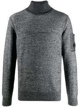 CP Company ribbed turtleneck sweater - Grey