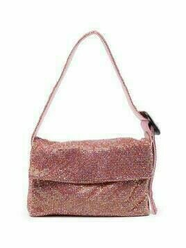 Benedetta Bruzziches Vitty crystal-embellished tote bag - Pink