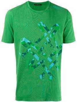 Mr & Mrs Italy abstract camouflage T-shirt - Green