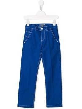 Bonpoint denim trousers - Blue