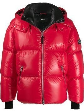 Mackage glossy puffer coat - Red