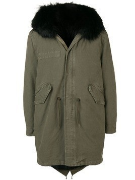 Al Duca D'Aosta 1902 hooded midi coat - Green
