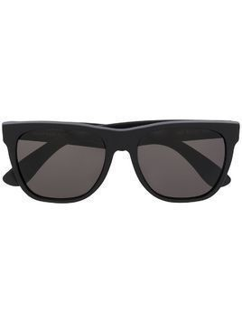 Retrosuperfuture matte finish square frame sunglasses - Black