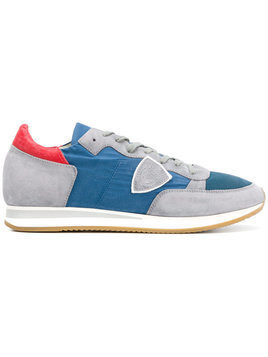 Philippe Model - Tropez sneakers - Herren - Calf Leather/Suede/Polyester/rubber - 39 - Blue