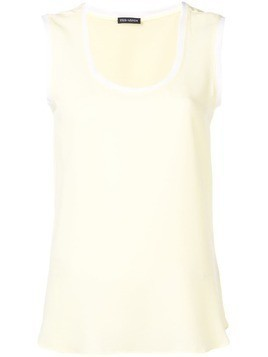 Iris Von Arnim jersey tank top - Yellow