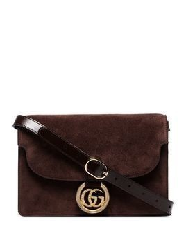 Gucci small GG Ring shoulder bag - Brown