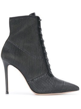 Gianvito Rossi ankle lace-up boots - Black
